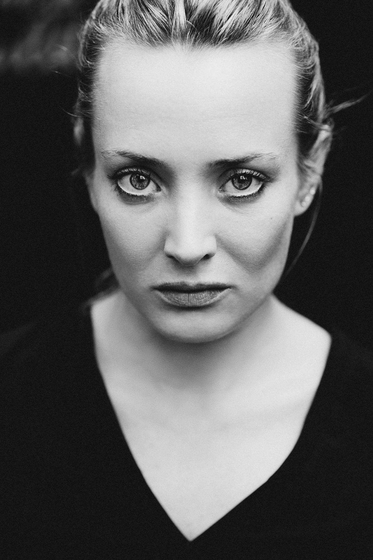 Portrait de la comédienne Caroline Besson
